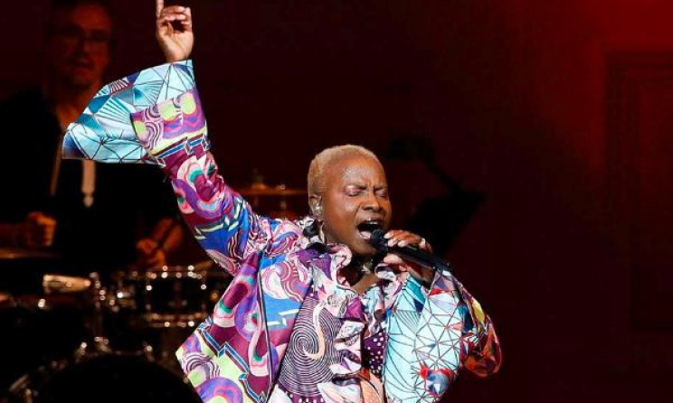 Angelique Kidjo at Carnegie Hall.  Photo: Facebook