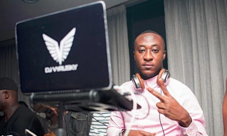DJ Vyrusky is the new king of Ghana's DJ scene.  Photo: eNewsGH