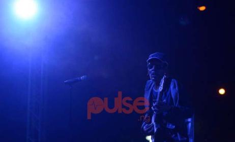 Majek Fashek at the Lagos Jazz Series Festival. Image: Courtesy of Pulse Nigeria