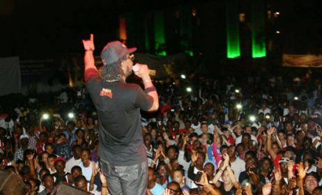 Concert at Kinshasa, source: www.talents2kin.com