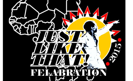 The official Felabration 2015 logo.