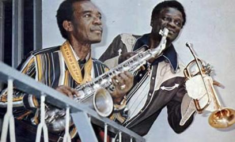 Victor Olaiya and E.T.Mensah
