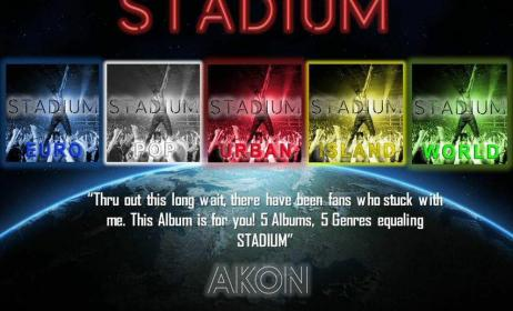 Stadium (photo source: Facebook officiel Akon)