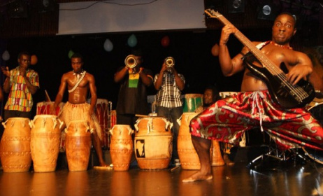 African Footprints International Band. Image: Arts Ghana