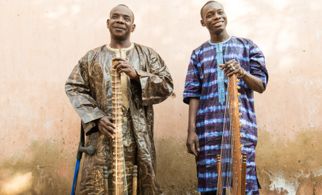 Toumani and Sidiki Diabaté. Photo: www.toumaniandsidiki.com