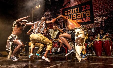 Ihhashi Elimhlophe at Sauti za Busara 2015. Photo by Peter Bennett