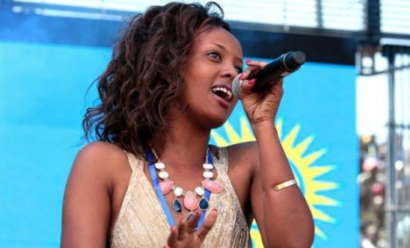 Rwandan pop star Knowless Butera. Photo: Facebook