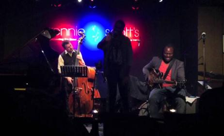 Femi Temowo and Quartet at Ronnie Scott's.