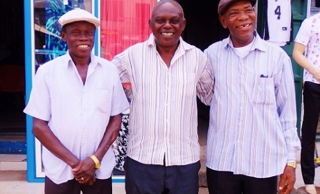 The veterans Eddie Offeyi, Tony Odili and Isaac Onote