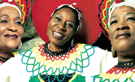 The Mahotella Queens celebrate 50 years. Photo: http://www.griot.de