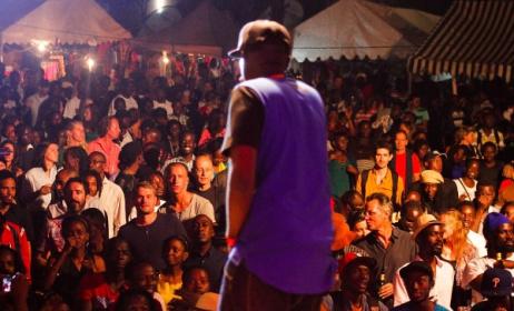 Ugandan rapper Ruyonga at Bayimba 2014. Photo: Daniel Ecwalu/bayimbafestival.com