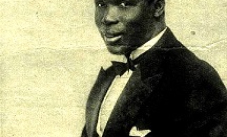 Image from album cover of August Browne's 1928 Jazz album