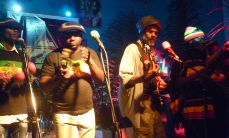 Conquering Lions lors d'un concert à Brazzaville. (ph) adiac-congo.com