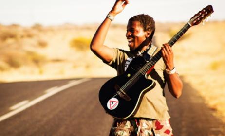 Namibian artist Elemotho. Photo: www.worldmusic.net