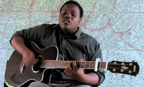 Malawian singer George Kalukusha.