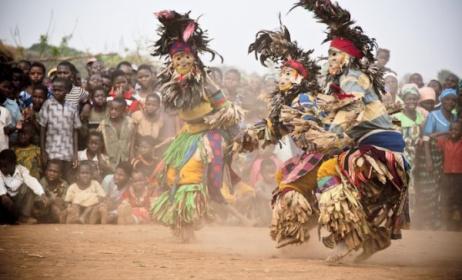Malawi's famous Gule Wamkulu. Photo: www.africawildtruck.com