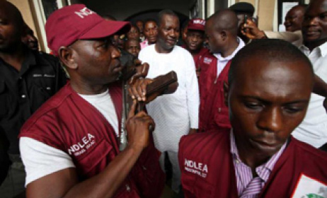 NDLEA officials on a past operation. Photo: nigeriatell.com