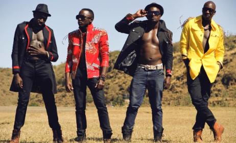 Kenyan band Sauti Sol. Photo: www.kenyadigest.com
