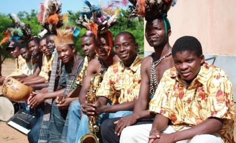 Malawi's famous Alleluya Band. Photo: www.alleluyaband.org