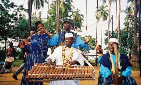 (Ph) Groupe musical de la Guinée