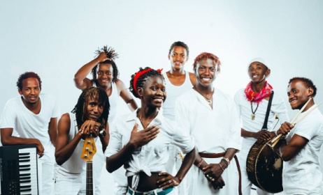 Kenyan band Sarabi will headline Africa Oyé in the UK.