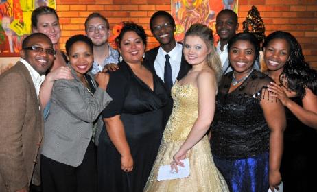 Semi-finalists in the last SAMRO Scholarship competition for singers, held in 2011. Photo: www.samrofoundation.org.za