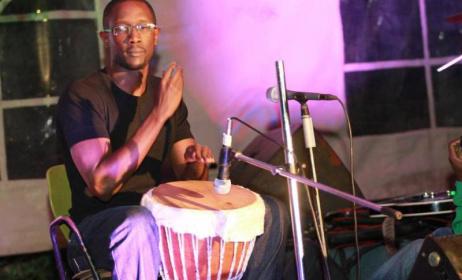 Percussionist Tetu Shani