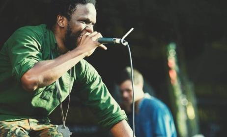 UK-based Zimbabwean artist Thabo Mkwananzi at the 2013 Zimfest. Photo: Facebook