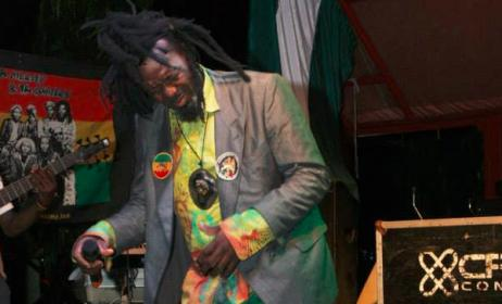 Folusho Clark performing