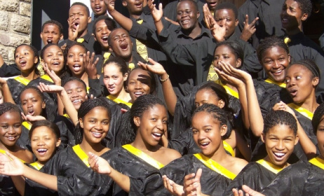 Namibia's College of the Arts (COTA) Choir. Photo: www.informante.web.na