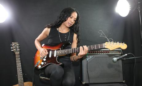 Dillie, la star du pop-rock malgache.(ph) popmuse.rock
