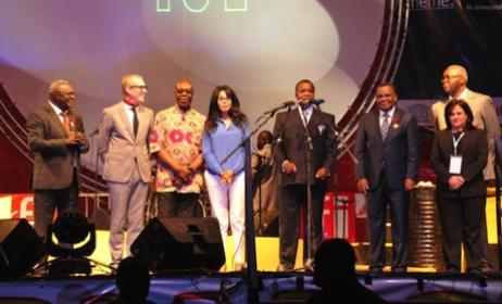 Ouverture de la 10ième édition du Fespam par le président congolais, Denis Sassou Nguesso (ph) Afrik.com