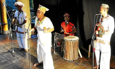 Le groupe Antakarana lors d'un concert. (ph) Le Télégramme