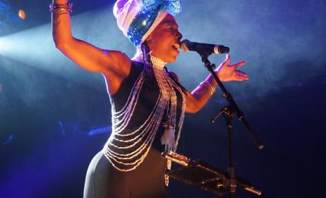 La Dame Blanche at Babel Med 2015. Photo credit: Catalina Maria Johnson. source: www.wsimag.com
