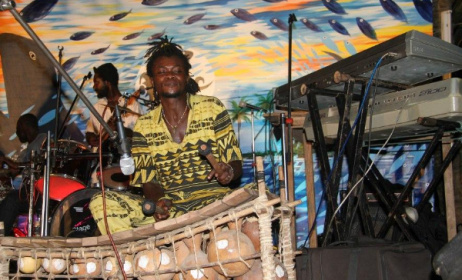 Ghana has a thriving live scene. Photo: Asabaako festival gallery