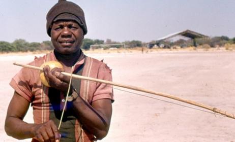 A traditional Namibian bow. Photo: nycefm.com