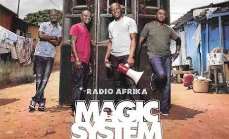 Pochette de Radio Afrika, nouvel album de Magic System