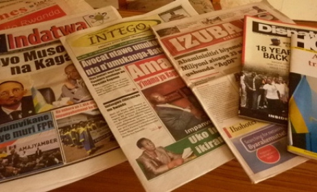 Rwanda Print Media. Photo:www.greatlakesvoice.com