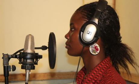 Talent recording session Photo: kefapro.blogspot.com