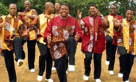 Ladysmith Black Mambazo.