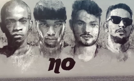 A scene from the music video for 'No!'.