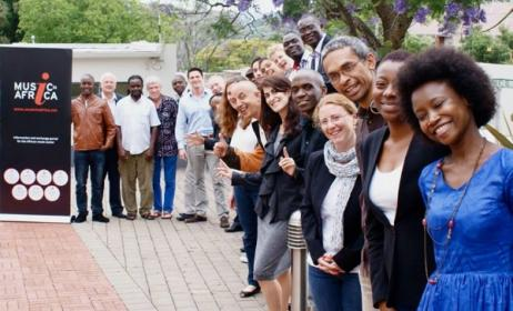 Participants of the 2nd Music In Africa Foundation AGM in Johannesburg in 2014.