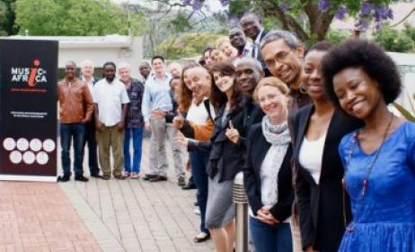 (Ph) Les participants à la 2e Assemblée Générale Annuelle de la Fondation Music In Africa tenue à Johannesburg en 2014.