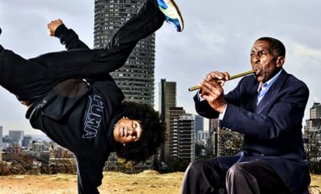 This year's Moshito ambassadors, Emile YX and Lemmy 'Special' Mabaso. Photo: moshito.co.za