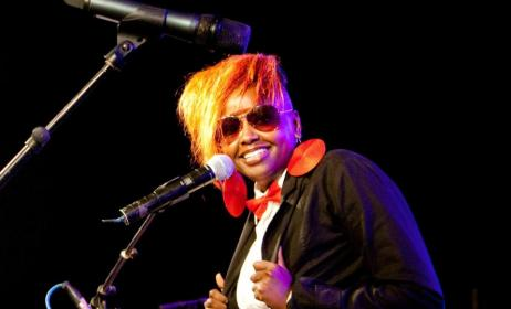 Kenyan artist Muthoni Drummer Queen. Photo:nairobiwire.com