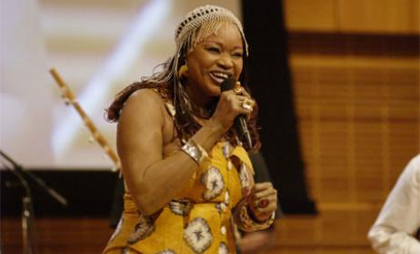 Oumou Sangaré, l'artiste malienne se produit régulièrement en Europe (ph) World Zik
