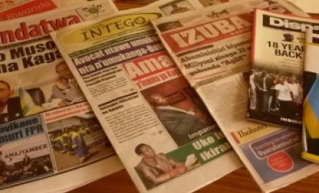 presse écrite Rwandese. Photo: www.greatlakesvoice.com