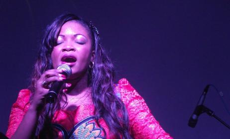 Belle Agniélé, Chanteuse évangélique du Congo Brazzaville. (ph) Adiac-Congo