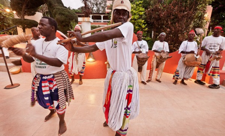 Live music in Gambia. Photo: www.ngalalodge.com