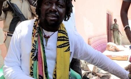 Kombo Chokwe of Asili Dub. Photo: www.humanitarianbazaar.org